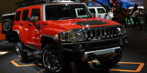 Hummer stand 2008 London Motorshow
