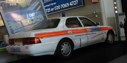 Topgear cop cars 2008 London Motorshow