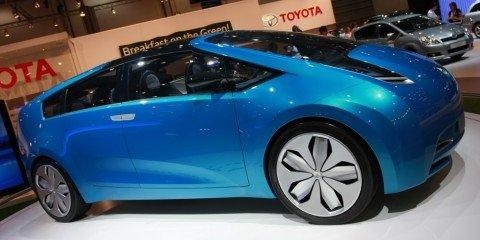 Toyota Prius concept 2008 London Motorshow