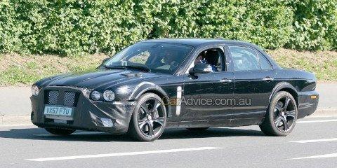 New Jaguar XJ spy photos