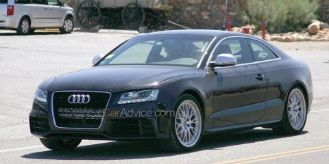 Spied: Audi RS5
