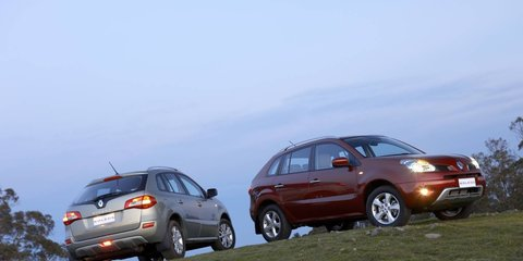 2008 Renault Koleos First Steer