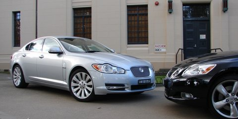2008 Jaguar XF V8 vs Lexus GS460 review