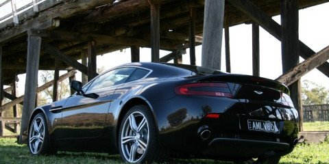2009 Aston Martin V8 Vantage Coupe Review