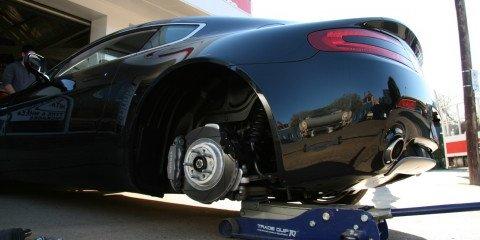 2009 Aston Martin V8 Vantage Coupe Review