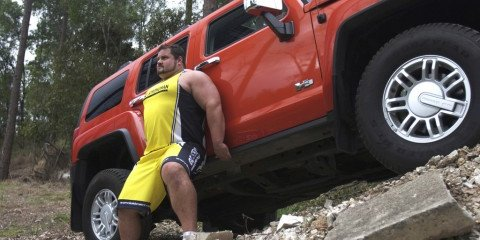 Hummer to support Oz Strongman Nationals