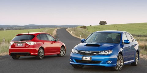 2009 Subaru Impreza WRX First Steer