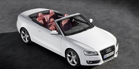 2009 Audi A5 and S5 Convertible range