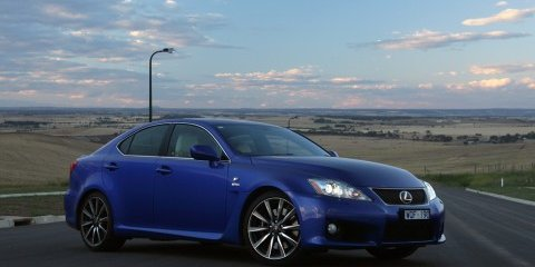 2009 Lexus IS-F Review