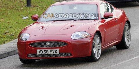 2009 Jaguar XK facelift spied