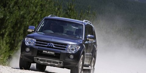 2009 Mitsubishi Pajero First Steer
