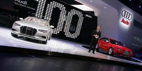 NAIAS - Audi R8 5.2FSI Quattro and Sportback Concept