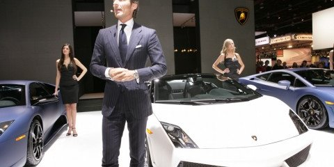 NAIAS - Lamborghini Ad Personam program on show