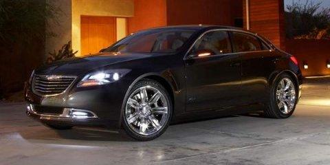 NAIAS - 2011 Chrysler 200C EV Concept