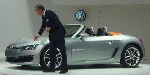 NAIAS - Volkswagen Bluesport Roadster Concept