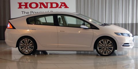 2010 Honda Insight Hybrid – First Look