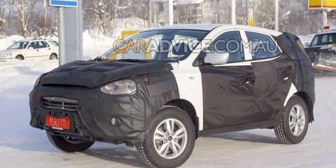 2010 Hyundai ix35 crossover spied