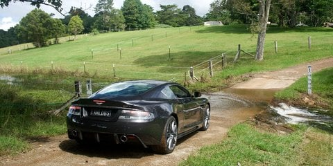 2009 Aston Martin DBS – driven by Kevin Bartlett