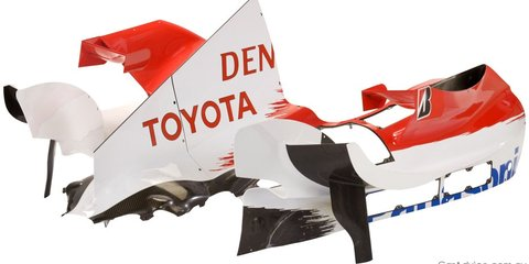 Toyota F1 team selling serious go-fast bits
