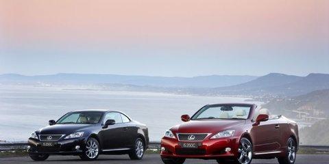 Lexus announces IS250C Australian pricing