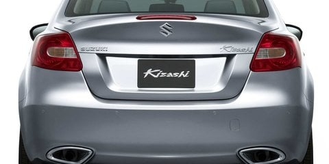 Suzuki Kizashi unveiled, heading to Oz