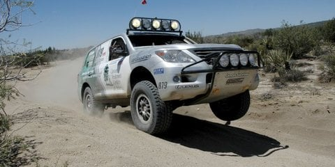 Lexus LX570 celebrates first off-road win