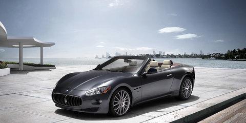 Maserati GranCabrio for Frankfurt show