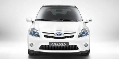 Toyota Corolla Hybrid Concept world premiere at Frankfurt