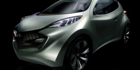 Hyundai ix-Metro hybrid electric CUV Frankfurt debut