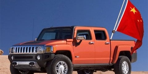 GM Hummer to sell for $165 million to Chinese
