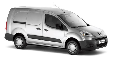 Peugeot Partner Crew Van released in the UK