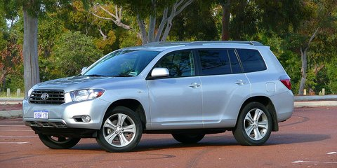 Toyota Kluger Review & Road Test
