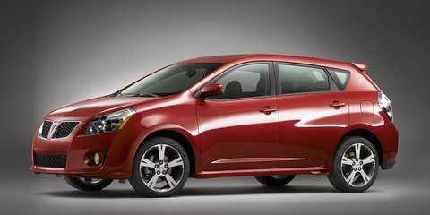 Pontiac Vibe included in Toyota sticking accelerator recall