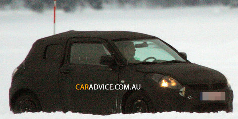 New Suzuki Swift spy photos