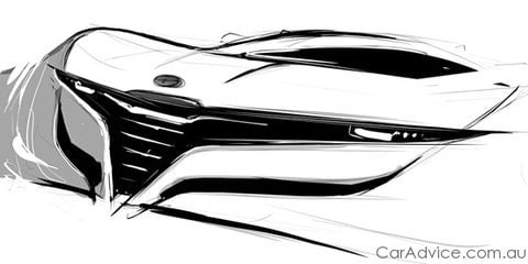 Pininfarina Spider, Bertone coupe Alfa Romeo sketches released