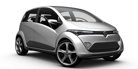 Proton, Lotus, Italdesign Giugiaro combine for hybrid city car concept