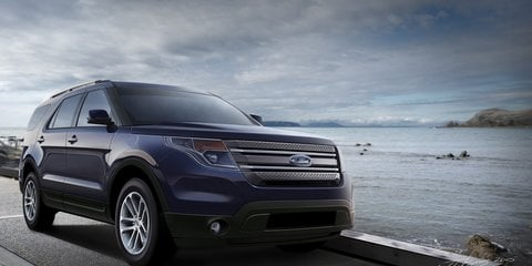 2011 Ford Explorer CGI Spy Photo