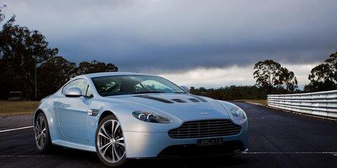 Aston Martin V12 Vantage Exclusive Track Test