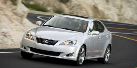 2010 Lexus IS 350 announced, due late 2010