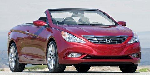 2011 Hyundai i45 convertible speculation