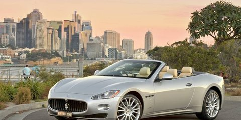 2010 Maserati GranCabrio launched in Australia