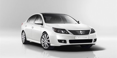 Renault Latitude could replace Laguna in Australia in 2011