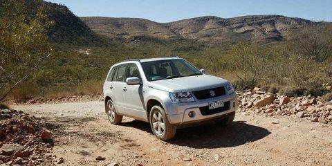 2010 Suzuki Grand Vitara awarded Overlander Best Small Wagon