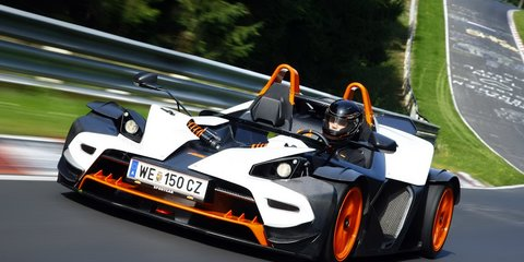 2011 KTM X-Bow R with 224kW Audi S3 engine
