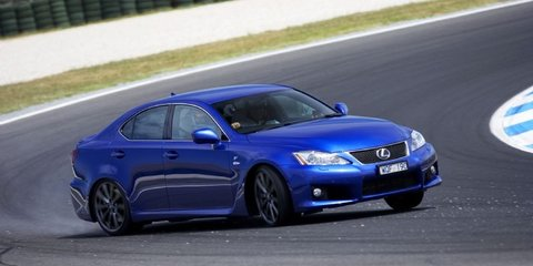 2011 Lexus IS F to pass Euro 5 emission standard