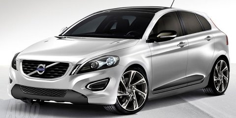 2012 Volvo C30 five-door rendered