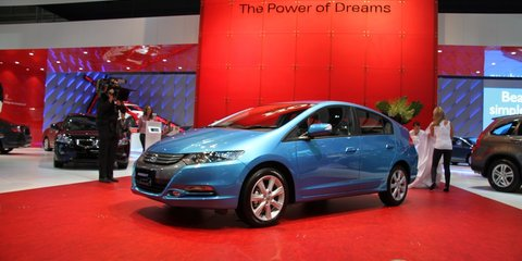Honda Insight at 2010 AIMS