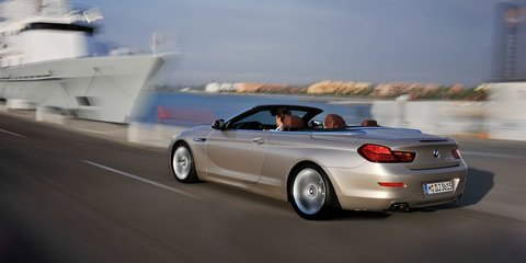 2012 BMW 6-Series Convertible at Los Angeles Auto Show