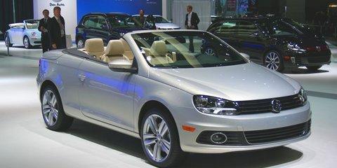 2011 Volkswagen Eos at LA Auto Show