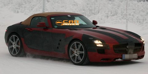 2011 Mercedes-Benz SLS AMG Roadster spy shots